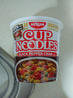 Nissin Cup Noodles Black Pepper Crab Flavour - Product
