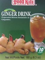 Ginger tea - Product