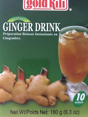 Boisson instantanée au Gingembre et au Miel - Product - fr