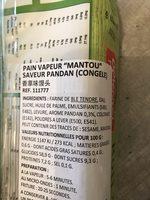 Roti span - Ingrédients - fr