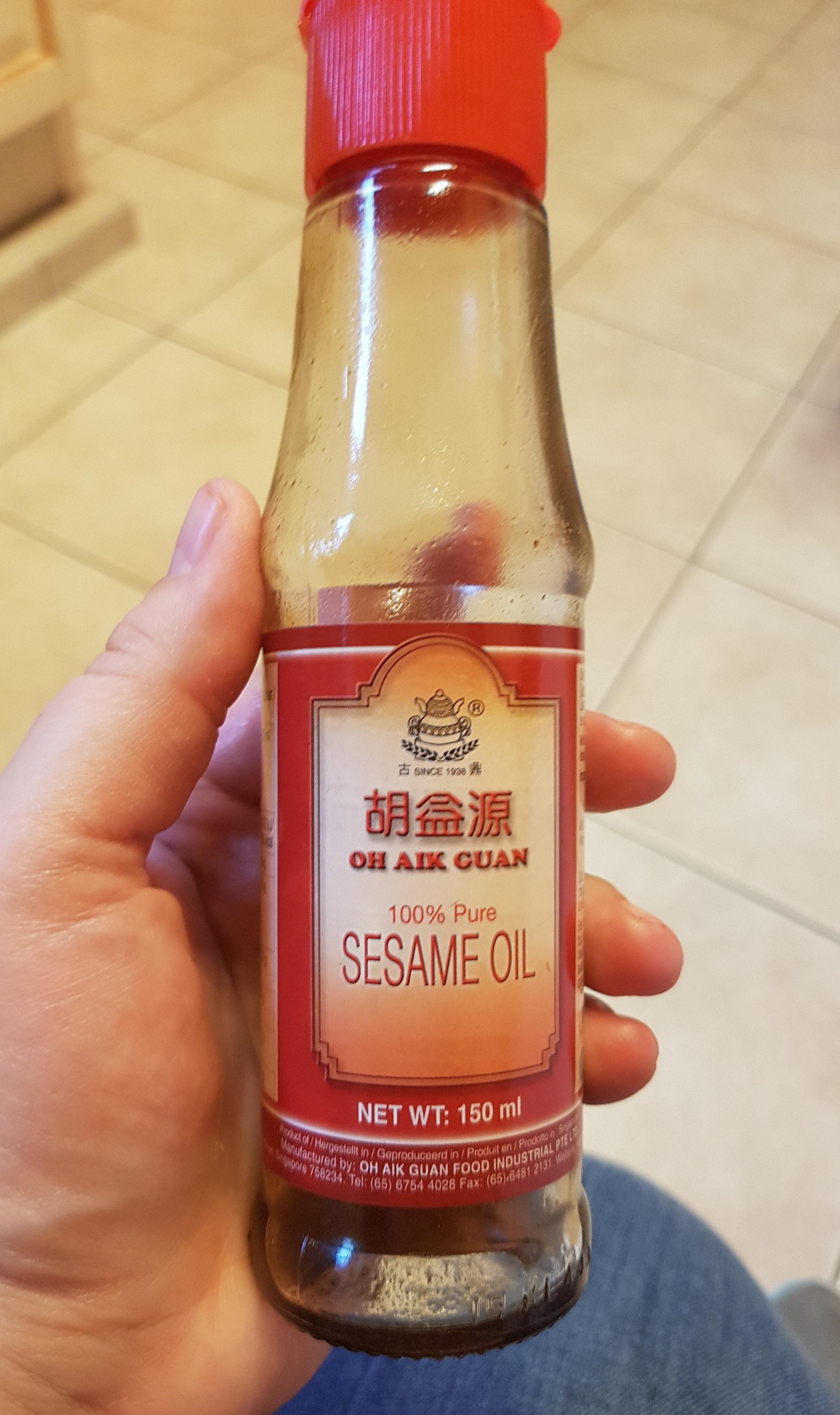 Huile De Sésame 150 ml - Produit - fr