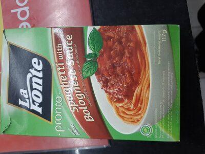 La Fonte Bolognese Sauce - Produk - id