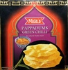 Papadums Green Chili - Product