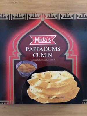 Pappadums cumin - Produkt - fr