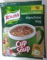 Knorr, Cup a soup , Manchow veg - Product