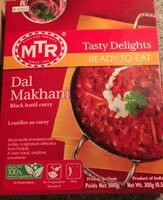 MTR Dal Makhani Black Lentil Curry - Product - en