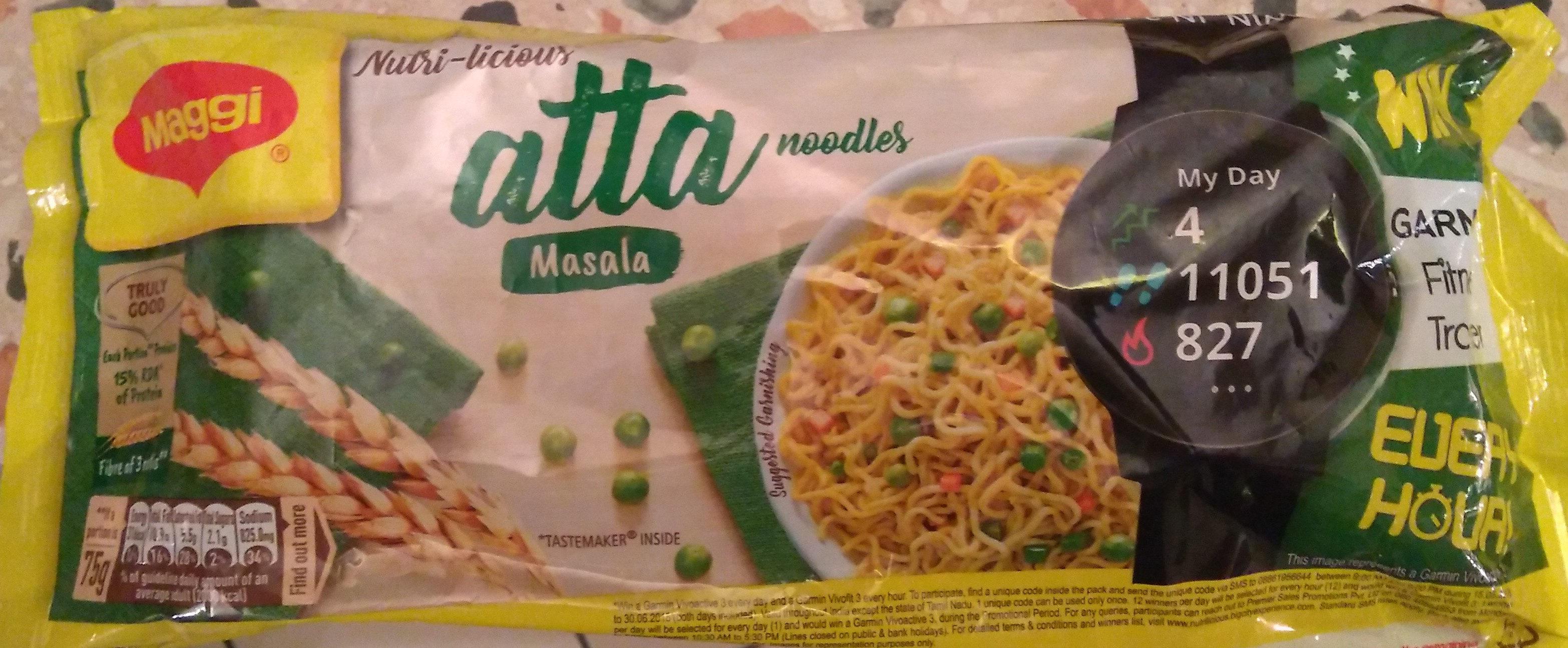 Maggi Atta noodle - Masala - Produit - en