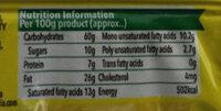 50-50 - Nutrition facts - en
