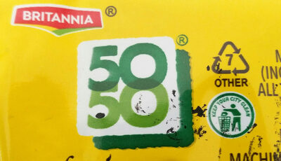 50-50 - Recycling instructions and/or packaging information - en