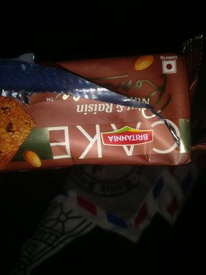 cake nuts and resins - Produit - en