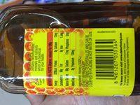 Honey - Nährwertangaben - en