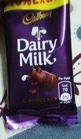 Dairy milk chocolate - Product - en