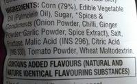 Doritos Sweet Chilli Flavour - Inhaltsstoffe - en