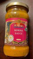 Korma sauce - Produkt - de