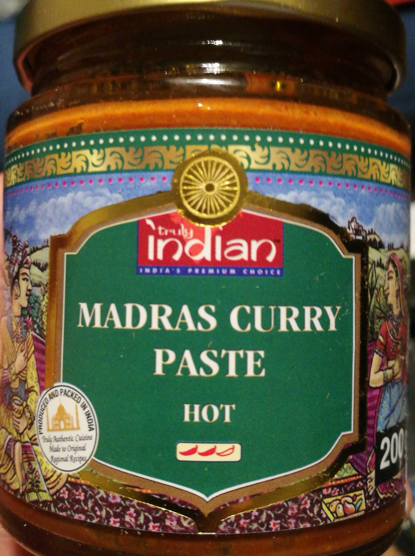 Madras Curry Paste - Product - en