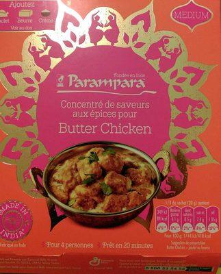 Concentré de saveurs pour Butter Chicken - Product