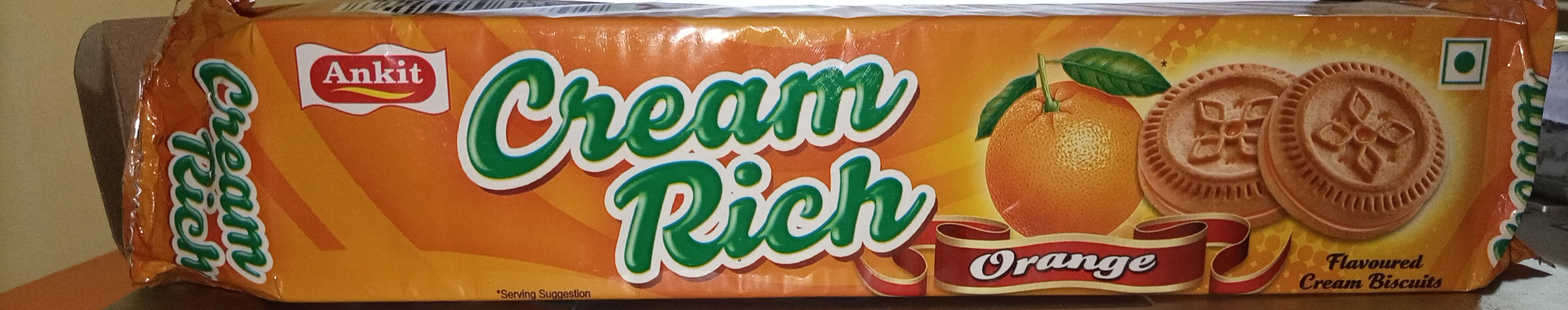 Cream Rich Orange - Product - fr