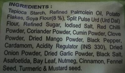 Soya Chips - Ingredients - en