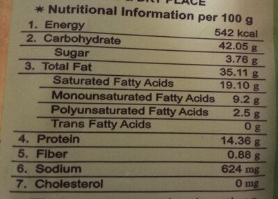 Soya Chips - Nutrition facts - en