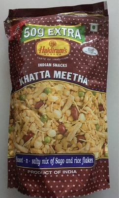 Haldiram Khatta Meetha Mix 400 GM - Produit
