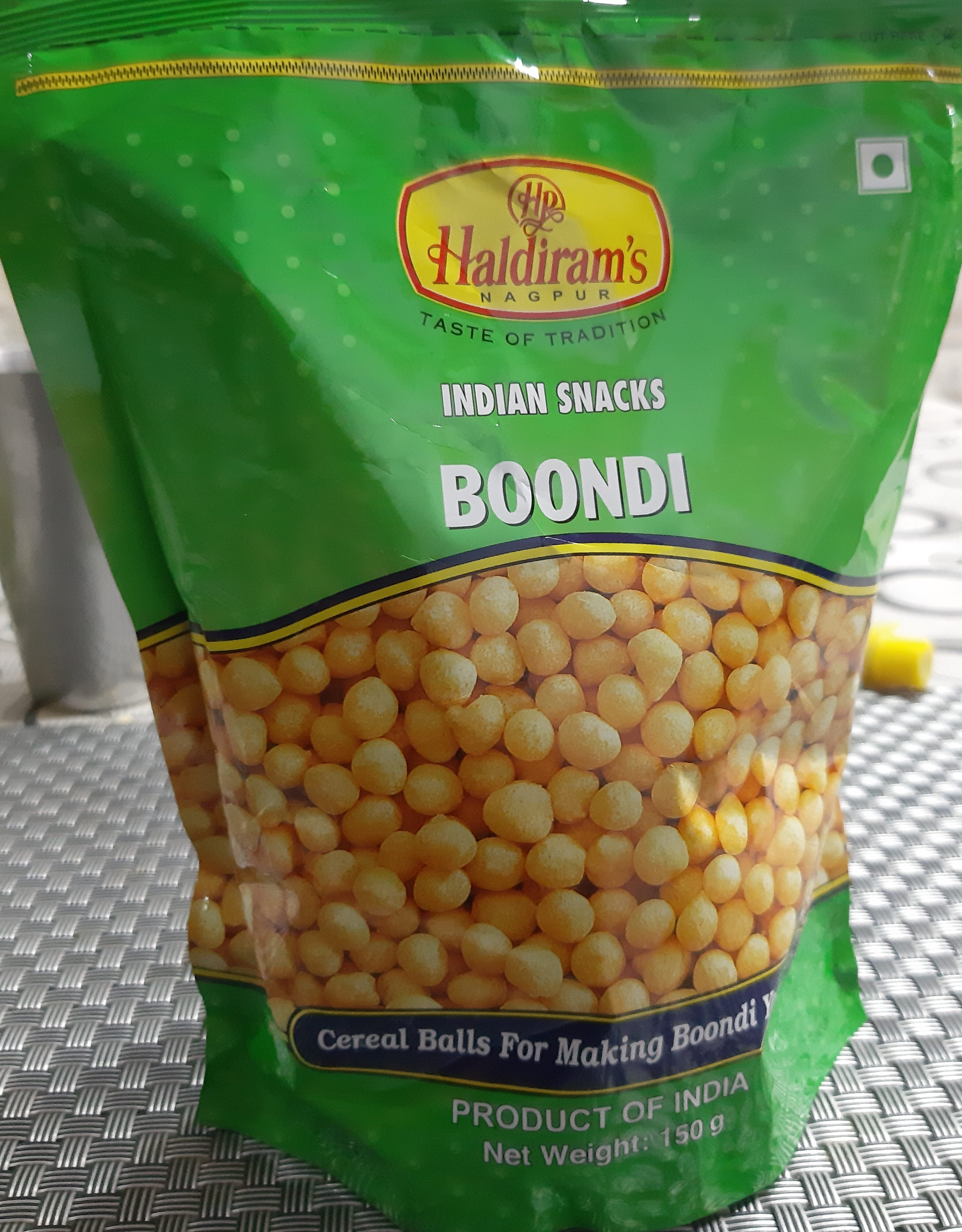Boondi - Product - en