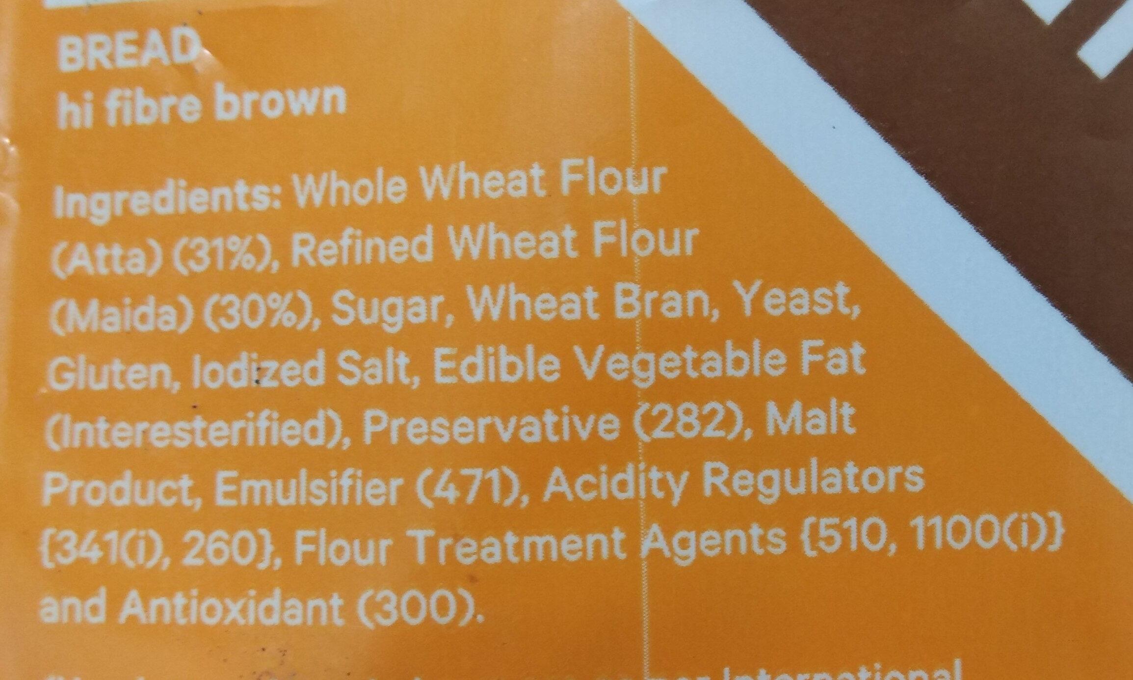 Modern Brown Bread - Ingredients - en