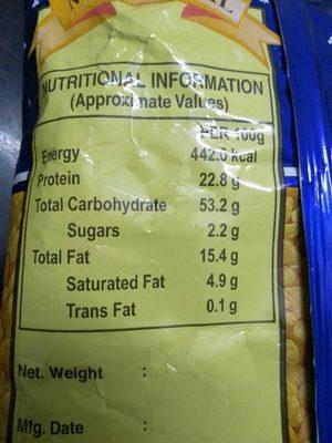 Haldiram's Moong Dal - Nutrition facts - en