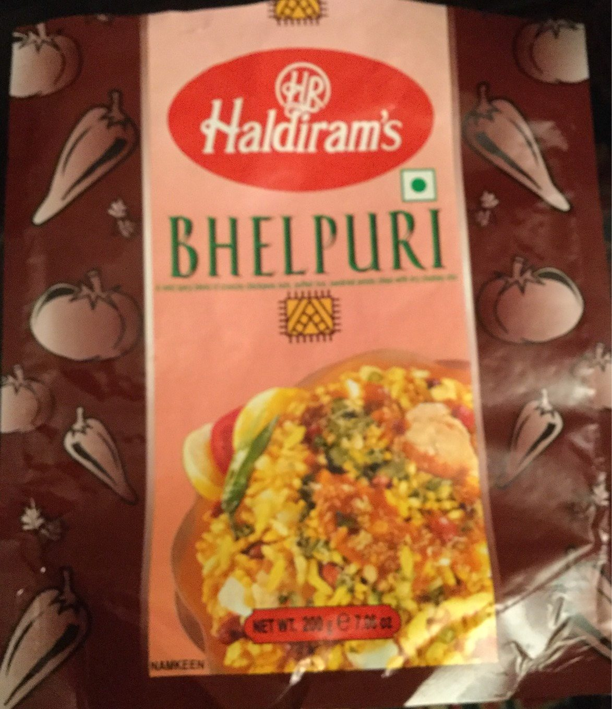 Haldiram Bhel Puri - Product