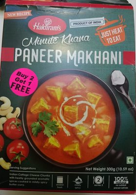 Paneer Makhani - Product