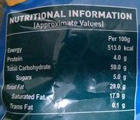 Whoopies - Nutrition facts - en