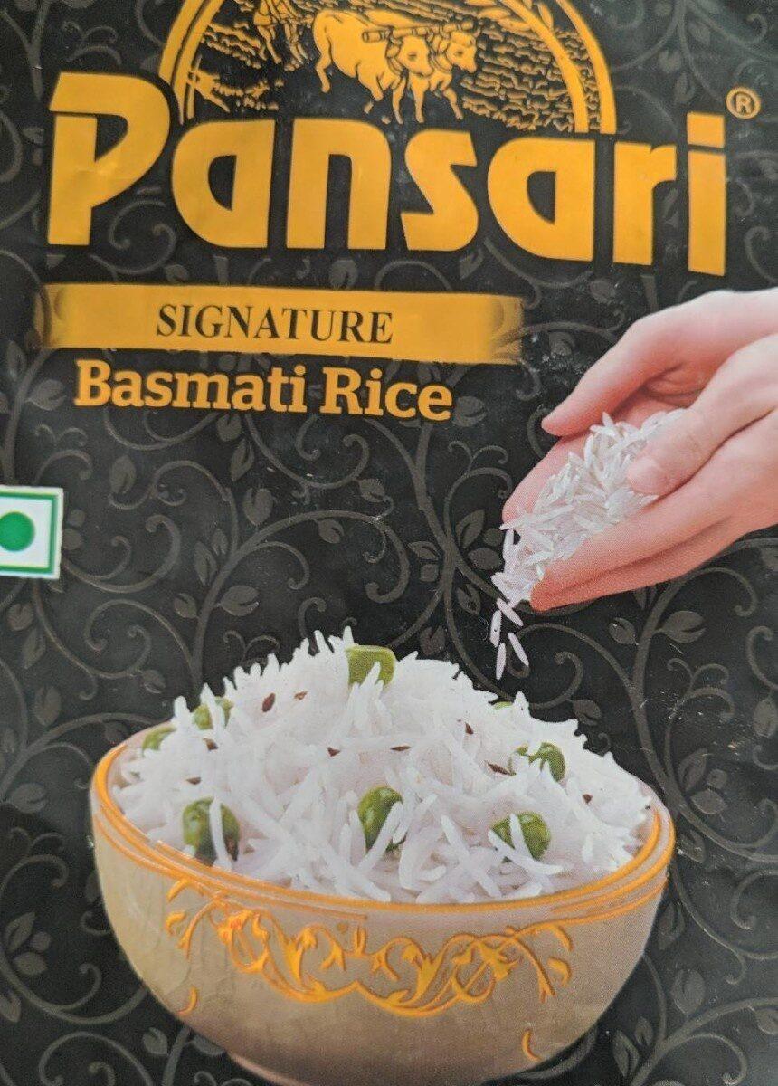 Signature basmati rice - Product