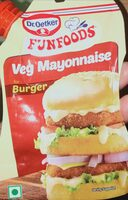 Veg Mayonnaise for Burger - Produit - en