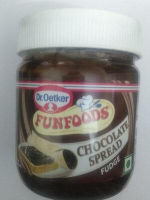 Fun Foods Chocolate Spread Fudge - Product - en