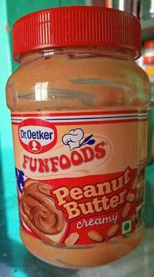 FUNFOODS PEANUT BUTTER - Product - en