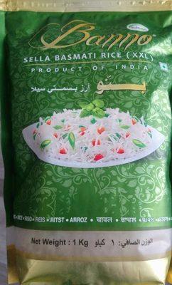 Sella basmati Rice - Produit