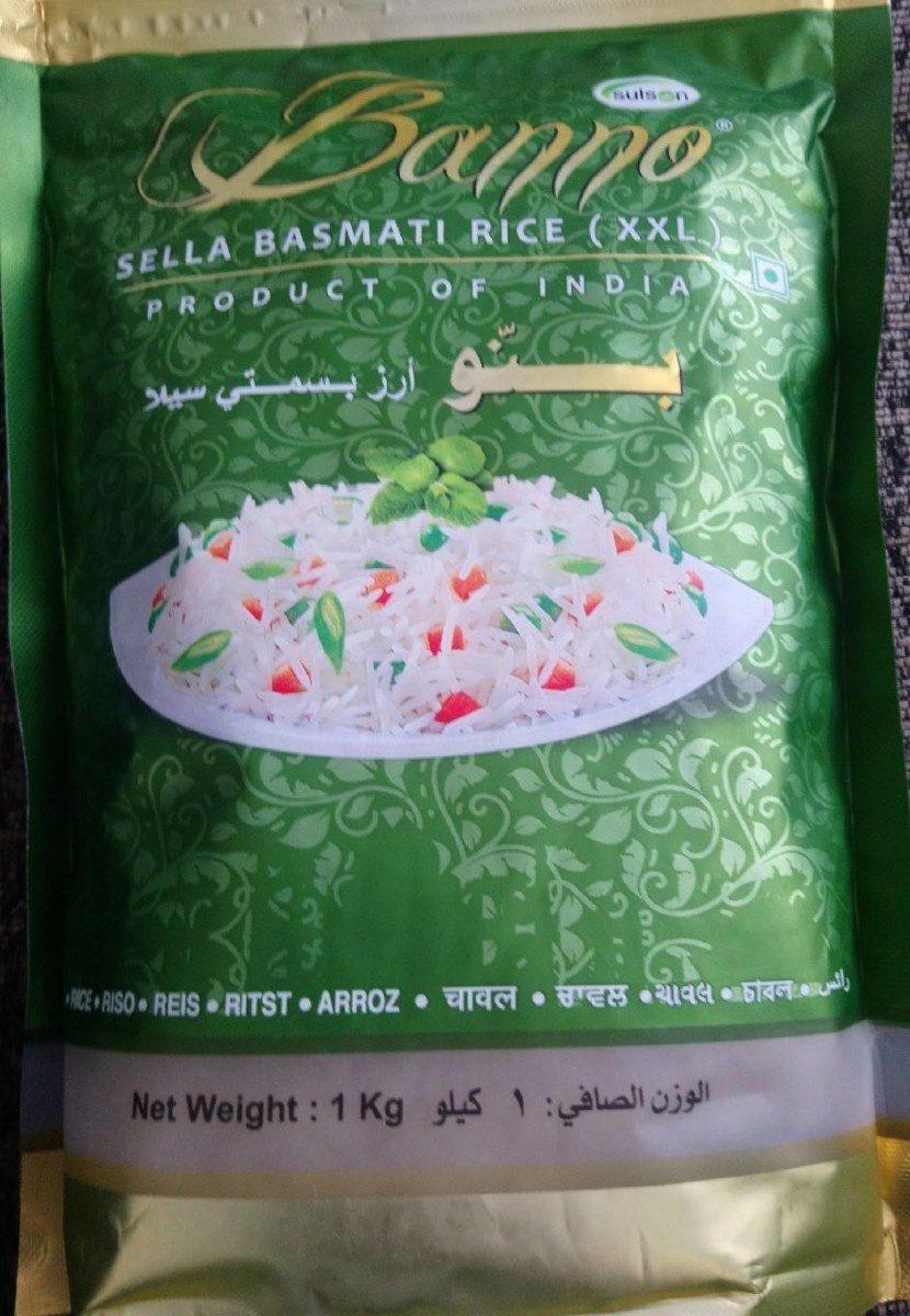 Sella basmati Rice - Ingredients - en