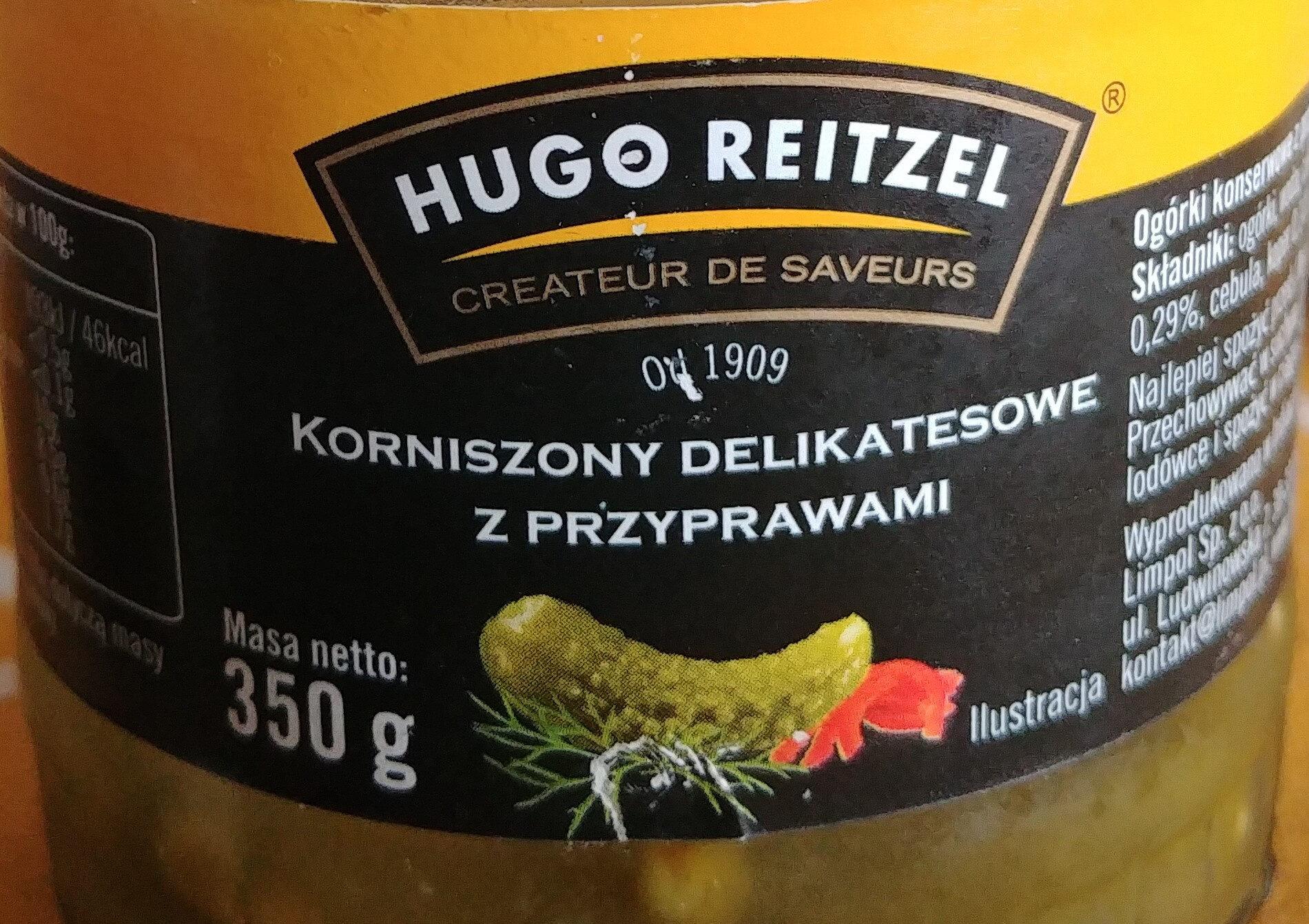 Korniszony delikatesowe z przyprawami - Produkt