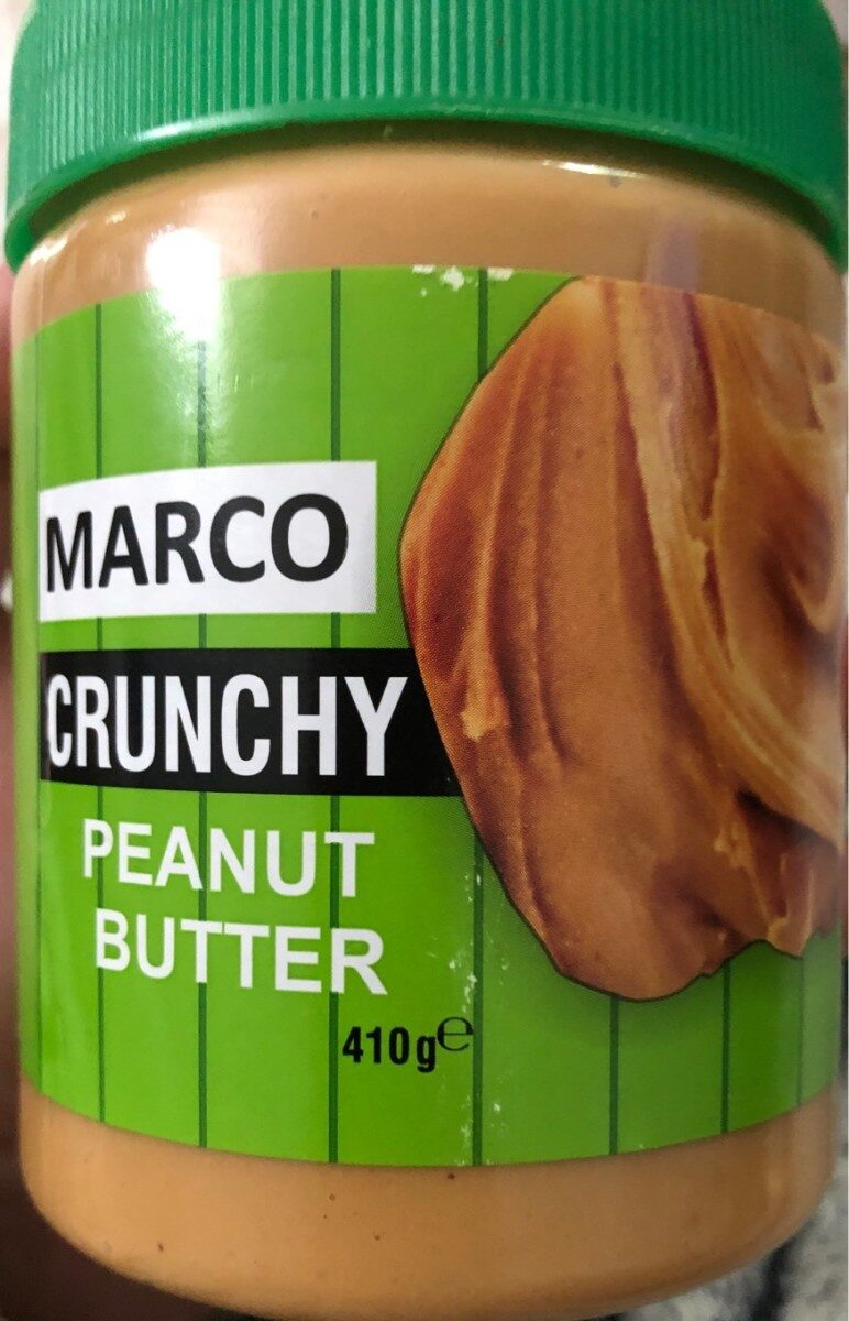 MARCO CRUNCHY PEANUT BUTTER - Produit - fr