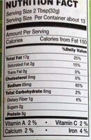 Marco crunchy - Nutrition facts - en