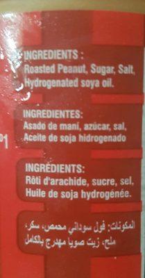 Smooth peanut butter - Ingredienti - fr