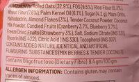 mixed fruit granola - Ingredienti - en