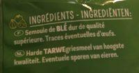 Fiorini torti 3 min - Ingredients