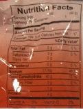 Vifon Pho Ga Instant Nudelsuppe, Huhn - Nutrition facts
