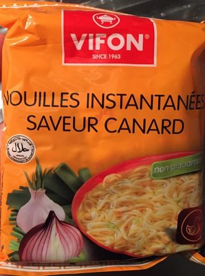 Nouilles instantanees saveur canard - Product