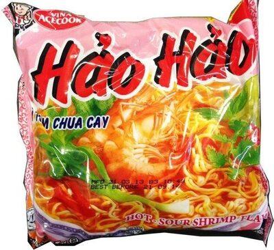 Hao Hao Mi Tom Chua Cay (hot Sour Shrimp Flavor Noodle) - Sản phẩm - vi