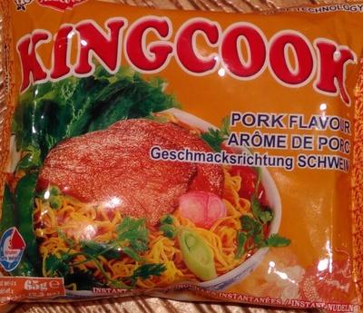 calorie Nouilles chinoises arôme de porc