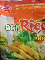 Oh!Ricey  pho - Product - fr