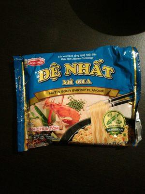 Soupe Thaïlande,saveur crevette aigre et légèrement épicés - Produit - fr