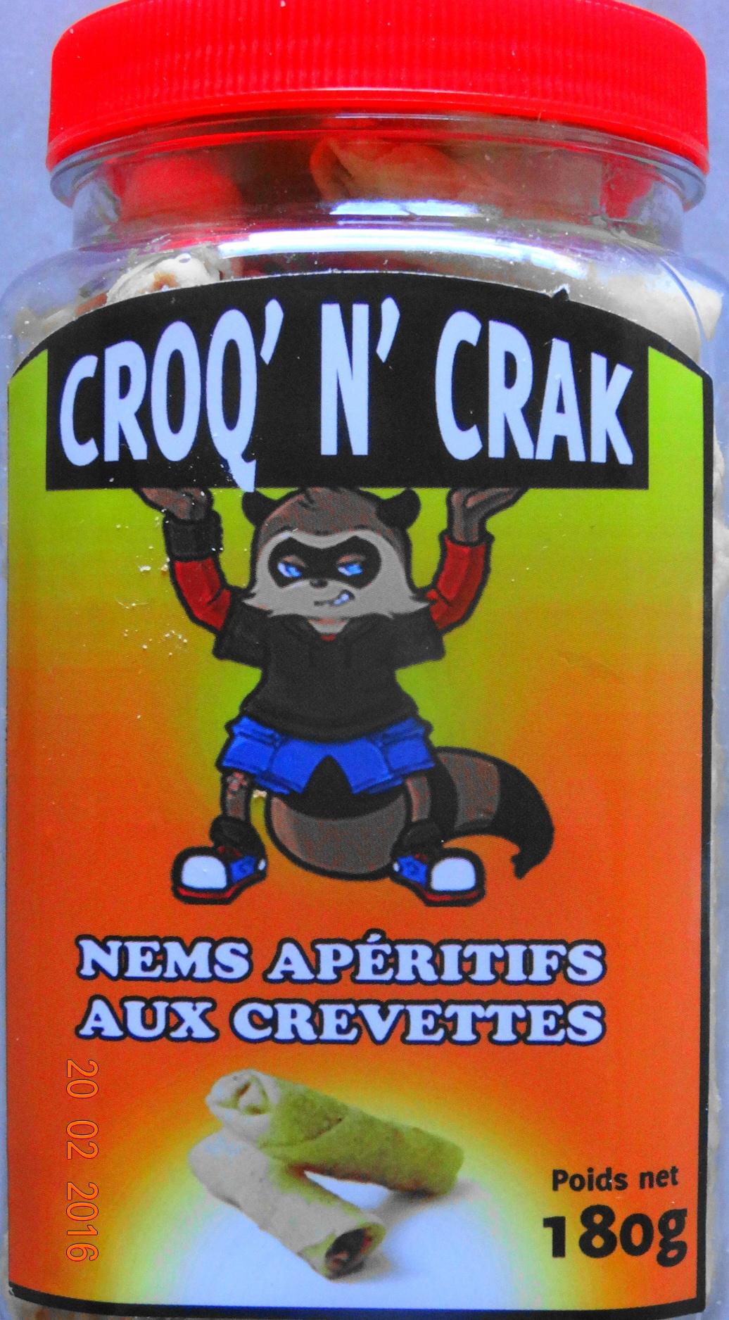 Nems apéritifs aux crevettes - Product - fr