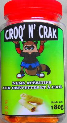 Nems apéritifs aux crevettes & à l'ail - Product - fr